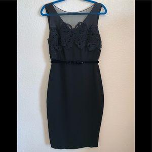 MaxMara Italy GORGEOUS black dress 10